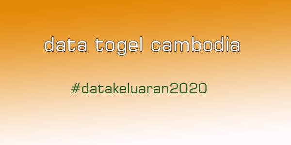 Data Pengeluaran Cambodia 2019-2020
